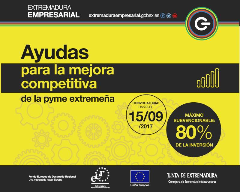 Presentación de Programas de Ayudas para la Mejora Competitiva y para la Consolidación Empresarial