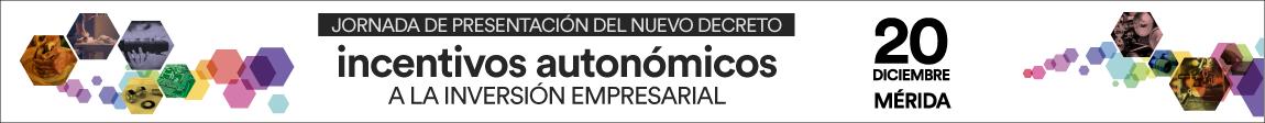 Jornada Presentación Incentivos Autonómicos a la Inversión Empresarial